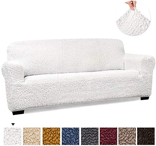 Best PAULATO BY GA.I.CO. Couch Cover - Sofa Cover - Sofa Slipcover - Soft Polyester Fabric Slipcover - 1-