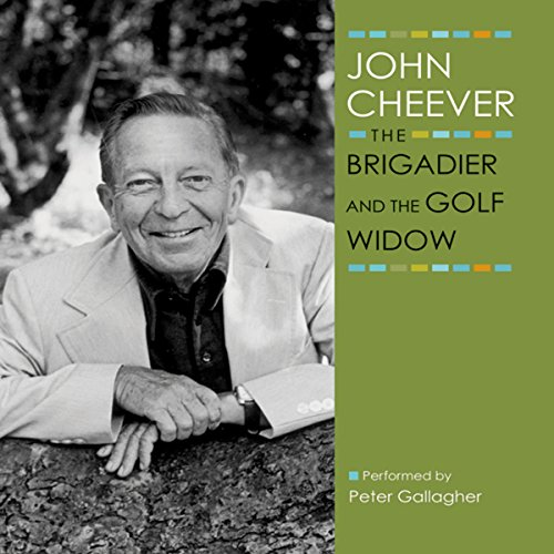 The Brigadier and the Golf Widow audiobook cover art