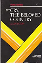 Cry, the Beloved Country: York Notes by G.M. Ridden (1983-09-06)