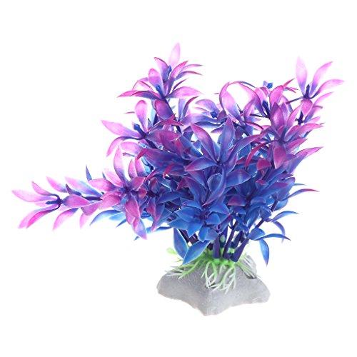 Xuniu kunstmatige planten water gras aquarium aquarium decoratie acvaryum (11cm)