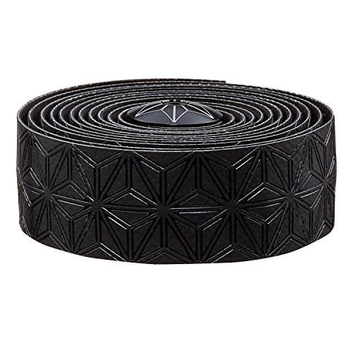 Supacaz Super Sticky Kush Single Color Handlebar Tape, Black