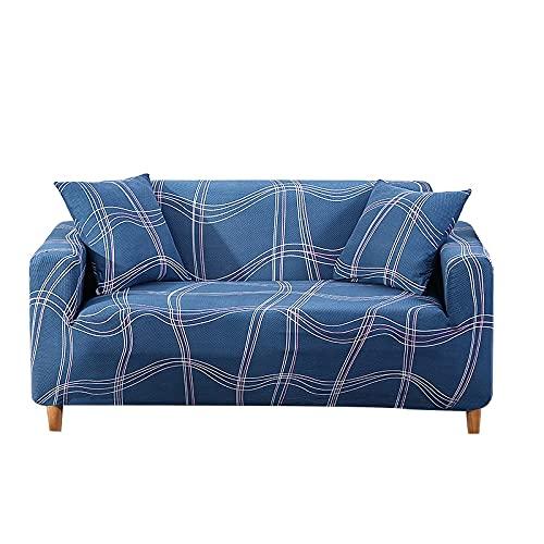 MKQB Funda de sofá telescópica elástica, Funda de sofá Antideslizante para Sala de Estar Moderna, Funda Protectora de sofá Antideslizante con Envoltura hermética n. ° 2 XL (235-300cm)