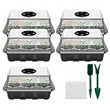 Gewächshauspflanzen-Vermehrungsbox 12 Zellen, Gewächshaus-Vermehrungsschale,...