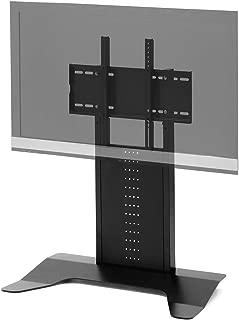 サンワダイレクト テレビスタンド 壁寄せ ロータイプ キャスター付き 40~65型対応 高さ77.5cm&85cm 100-PL016BK