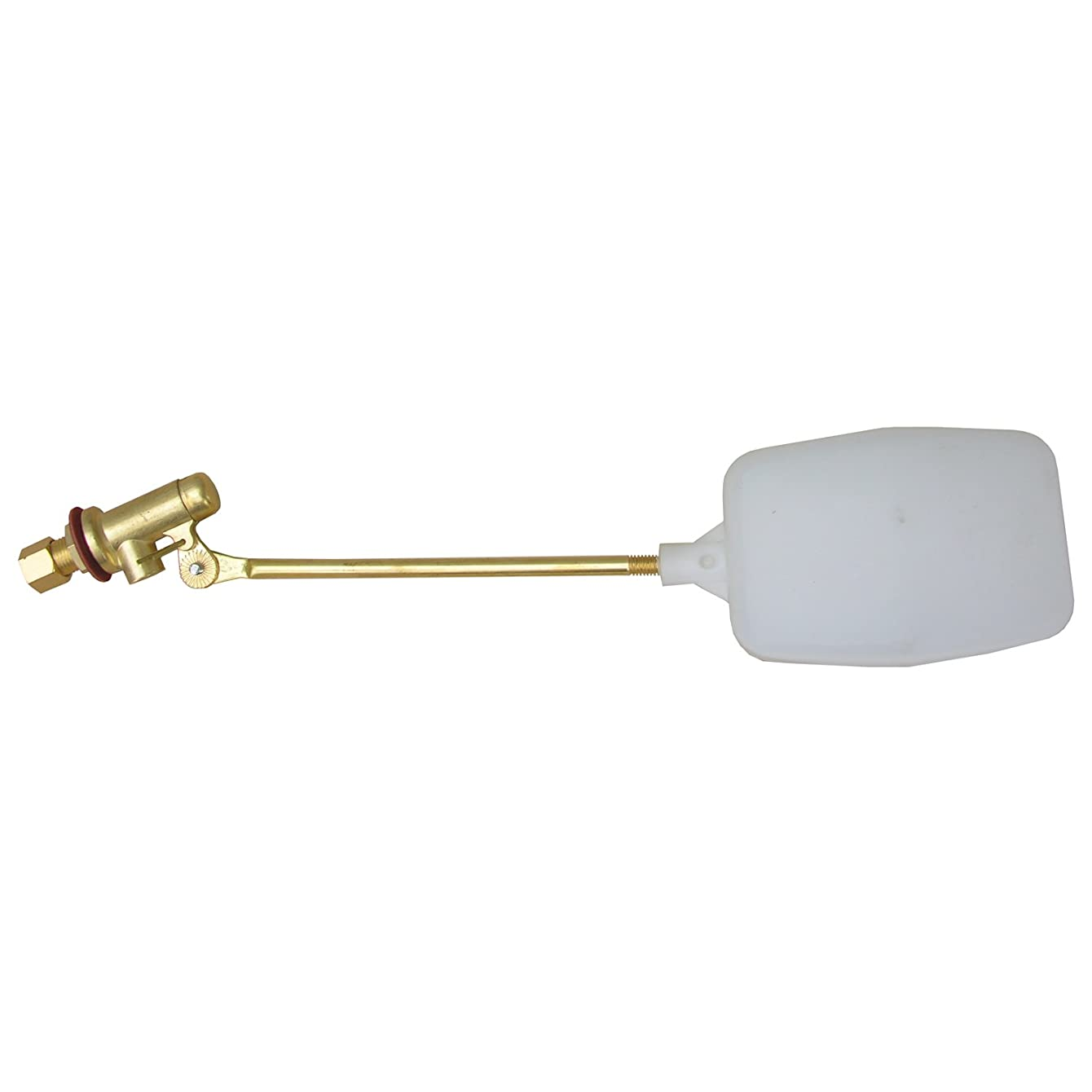 LASCO 05-1051 Heavy Duty 1/4-Inch Compression Evaporative Swamp Cooler Float Valve, Brass