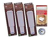 Human-Wellness - Cartuchos de filtro para cafeteras Jura Impressa White (3 unidades, con 10 barras de limpieza)