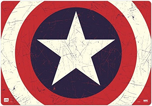 Grupo Erik Editores Vade Escolar Marvel Captain America Shield