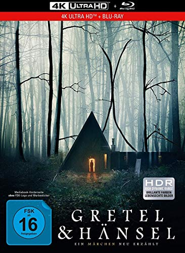 Gretel & Hänsel - 2-Disc Limited Collector's Edition im Mediabook (4K Ultra HD) (+ Blu-ray)