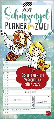 Schutzengel Planer für zwei Kalender 2021