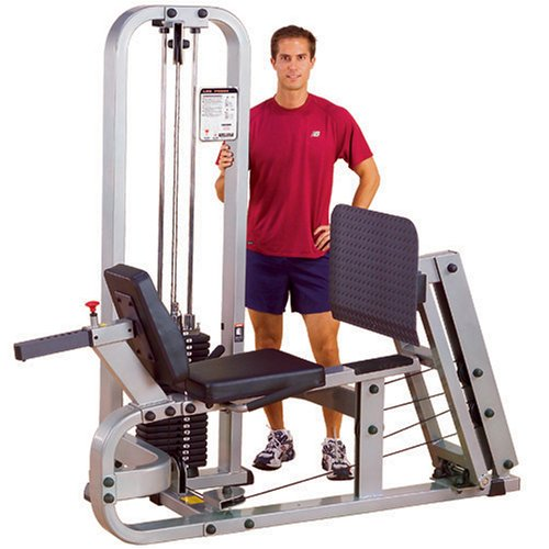 Product Image 2: Body-Solid ProClubLine Leg Press Machine with 210-Pound Weight Stack (SLP500G2)