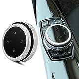 Interior del coche Botones multimedia Cubierta Decoración Accesorios