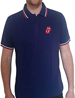 T-Shirt # L Unisex Blue # Classic Tongue [Import]