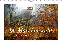 Im Maerchenwald des Untertaunus (Wandkalender 2021 DIN A3 quer): Monatskalender, 14 Seiten, farbig (Monatskalender, 14 Seiten )