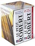 Le Robert, coffret de 3 volumes - Petit Robert de la langue française - Petit Robert des noms propres - Atlas géopolitique et culturel