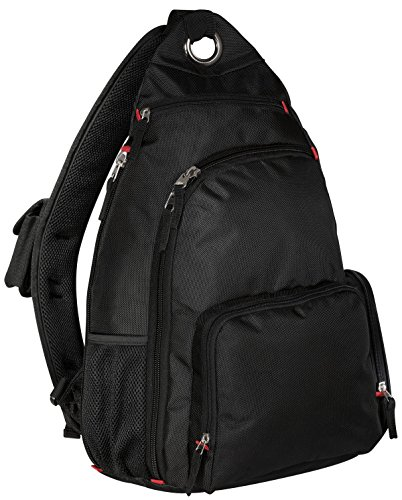 Port Authority Luggage-and-Bags Sling Pack OSFA Black