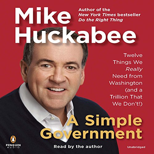 A Simple Government audiobook cover art