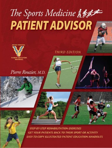 Compare Textbook Prices for The Sports Medicine Patient Advisor, Third Edition Third Edition Edition ISBN 9780984303106 by Pierre A. Rouzier,SportsMed Press,Inc.