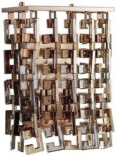 CYAN DESIGN 7948 Athropolis Wall Sconce, Satin Copper
