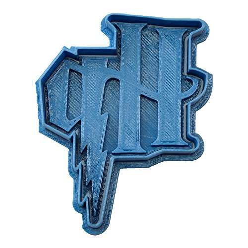 Cuticuter HP Harry Potter Cortador de Galletas, Azul, 8x7x1.5 cm