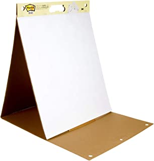 Post-it Super Sticky Tabletop Easel Pad, Great for Virtual Teachers and Students, 20 x 23..
