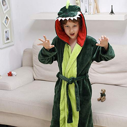 Winter Kinder Bademantel Cartoon Baby Bad Robe Stich Tier Kapuze Handtuch Bademäntel...
