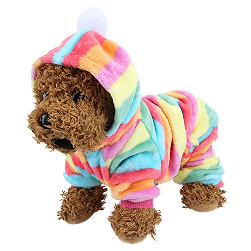 Ropa para Mascotas, Otoño Invierno Ropa para Mascotas Ropa de Salto Traje de Pijama cálido Ropa para Mascotas Ropa para Perro Gato Cachorro(XL)