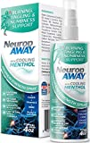 VasoCorp NeuropAWAY Neurop Pain Relief Spray | 4.0 oz with Menthol | Nerve Pain Relief and neurop Pain Relief for feet, neurop Support for Burning Numbness Pain in Legs and feet