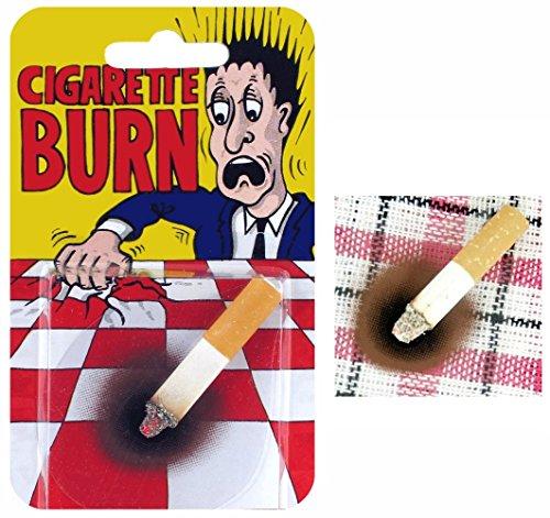Cigarette avec brûlure
