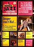 Jazz Festival Herne 2013 - Veranstaltungs-Poster A1