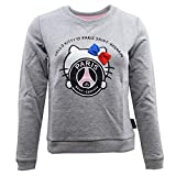 Sweat-Shirt PSG-Hello Kitty - Licence Officielle - Gris. Taille EU - 12 Ans