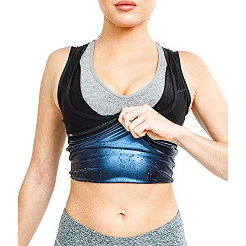 Saunpakken voor dames heren Corsage korset buikweg training taille korset afslanken shirt taillevorm fitness taillekorset figuurvormende gewichtsvermindering L/XL dames.