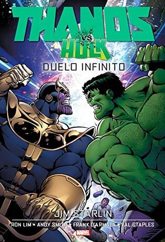 Thanos Vs. Hulk - Duelo Infinito: Capa Dura