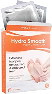 Foot Peel Mask - Foot Peeling Foot Mask For Baby Feet - Peels Dry Dead Skin, Cracked Heels. Callous Kit, Callus Remover. Foot Exfoliator Best Foot Exfoliants, Foot Scrub Care For Soft Touch.