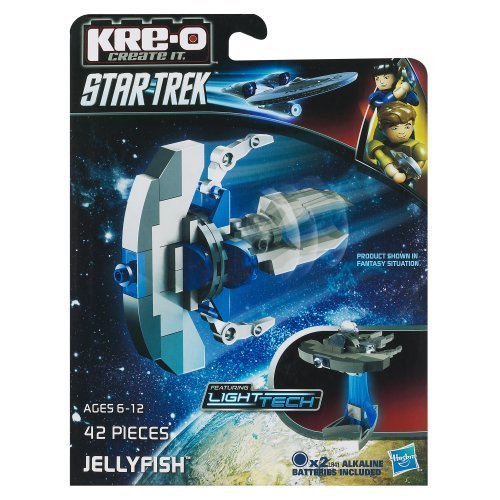KRE-O Star Trek Jellyfish Construction Set (A3371) by Kre-o TOY (English Manual)