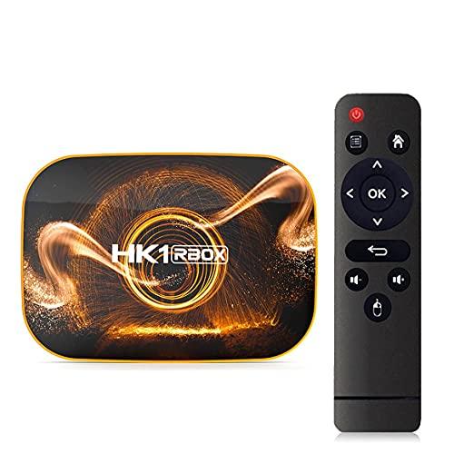 #NA HK1 Rbox R1 Smart TV Box 4K WiFi 1080P RK3318 HK1RBOX Reproductor Multimedia Set Top Box Rich Expansion Compact TV Box
