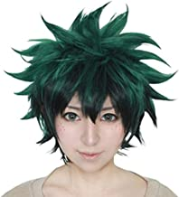 green anime boy