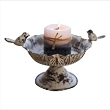 Candle Holders Iron Candle Holder Retro Decorative Candles Candle Holder for Home Dining Table Decor (Color : A)