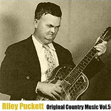 Original Country Music, Vol. 5