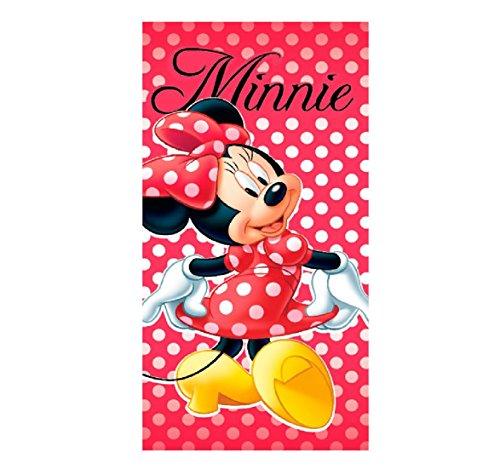 Minnie Toalla playa micro 70x140cm Mouse (MIN-H-TOWEL-89)