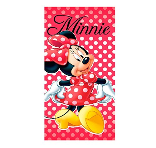 Minnie Toalla playa micro 70x140cm Mouse (MIN-H-TOWEL-89)