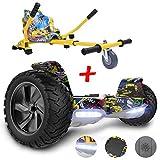 GeekMe Gyropode Auto-équilibré Scooter électrique 8,5 '' Tout Terrain avec Moteur Puissant Bluetooth&APP Intégré +...
