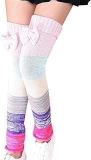 BOLAWOO-77, Calentadores De Piernas Para Moda Damas 100 Den Joven Mode De Marca Otoño Invierno Colegio Viento Moda Mujeres Oran Elástico Calcetines De Invierno