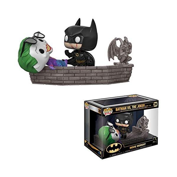 Funko 37250 Pop Vinilo: Movie Moment 80th: Batman and Joker (1989) Figura Coleccionable, Multicolor 1