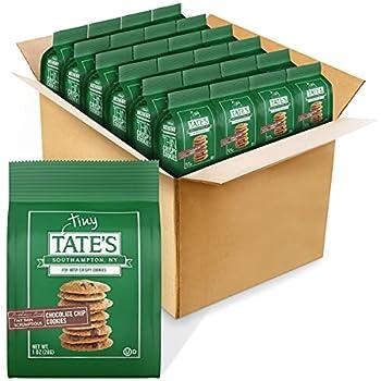 Tate s Bake Shop Thin Crispy Cookies Chocolate Chip 24 Oz