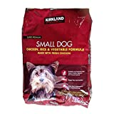 KIRKLAND カークランド スーパープレミアムドッグフード(9.07kg)子犬用チキン、ライス、ベジタブル