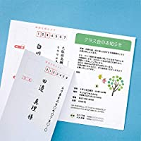 サンワサプライ インクジェット往復はがき つやなしマット50枚入り JP-HKDP50N2