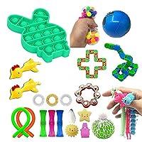 バブル感覚家知りのおもちゃ、感覚のフィジットのおもちゃセット、自閉症感覚玩具、子供のためのストレスの軽食のおもちゃ、大人 (Color : D)