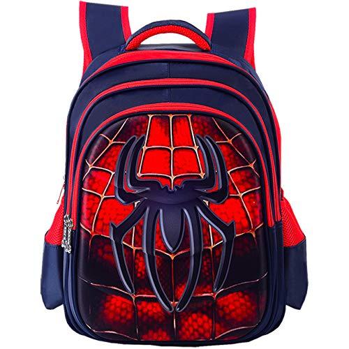 CDREAM Kinder Schulrucksack Teens Rucksäcke Für Jungen Und Mädchen Schultaschen,Spiderman-L(42 * 30 * 22cm)