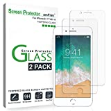 amFilm (2 Pack) Screen Protector Glass for iPhone 8, iPhone 7, iPhone 6S