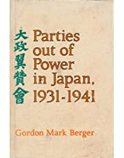 Parties Out of Power in Japan, 1931-1941